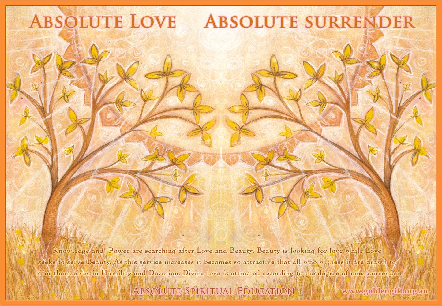 Absolute Love Absolute Surrender