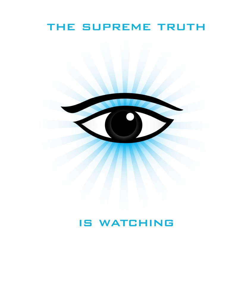 The Supreme Truth is Watching, The All Seeing Eye of Vishnu